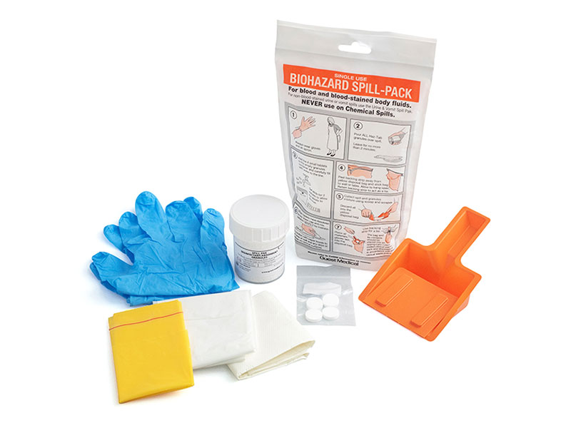 Single Use Biohazard Spill Pack (H8618)