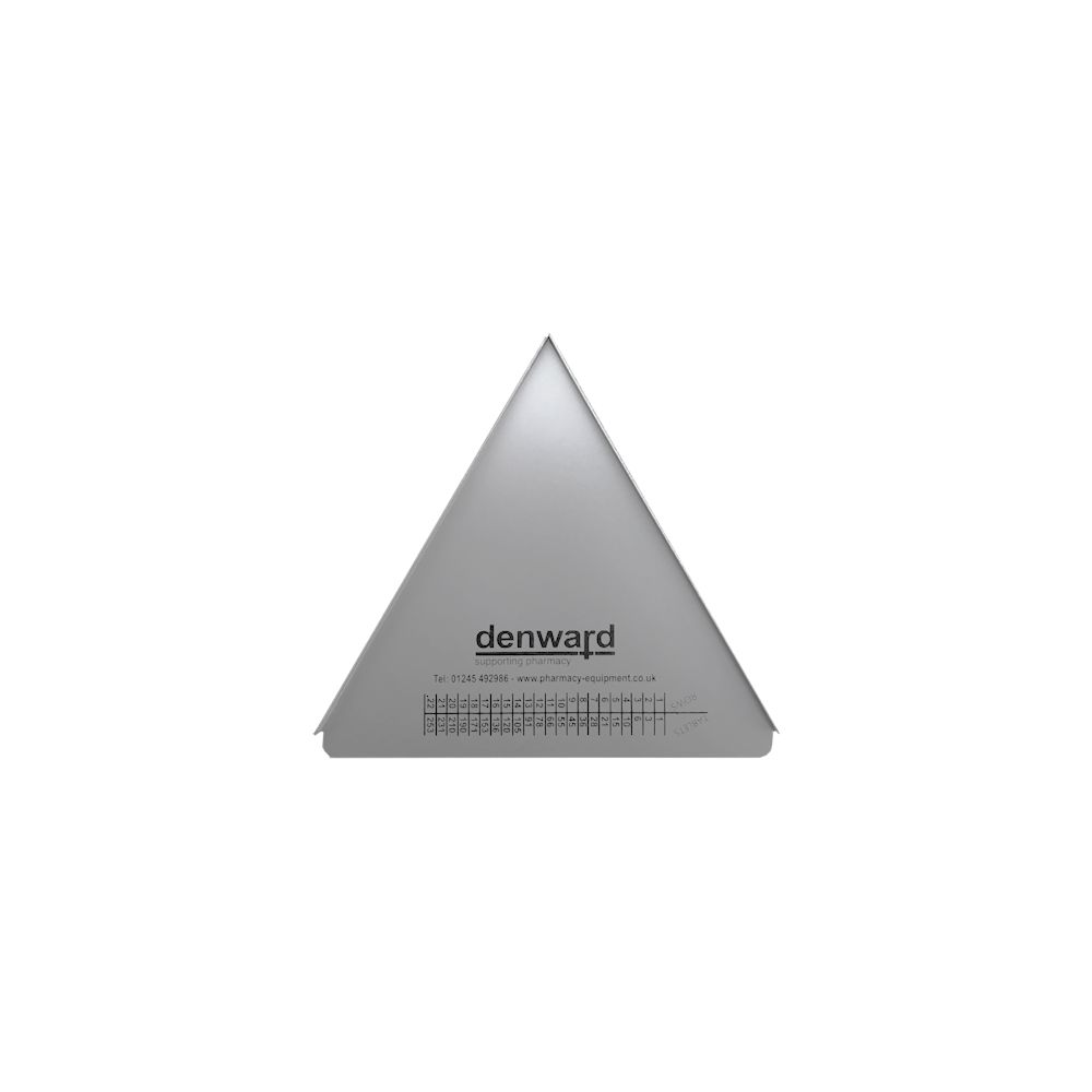 Counting Triangle (178mm – 7″) TAB007