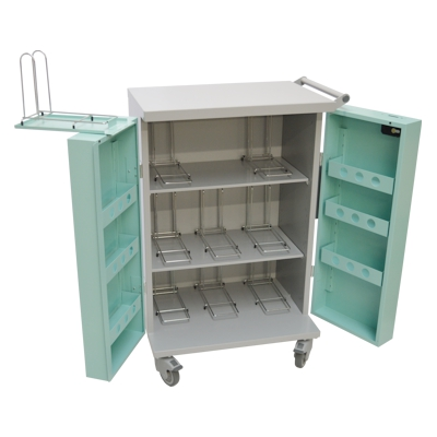 MDS Trolley 9 Rack (TRO008) 705W x 1095H x 490D