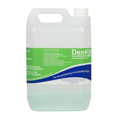 DenKit – Drug Denaturing Kit – 1 x 5ltr Container (CDK5000)