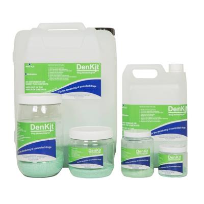DenKit – Drug Denaturing Kits