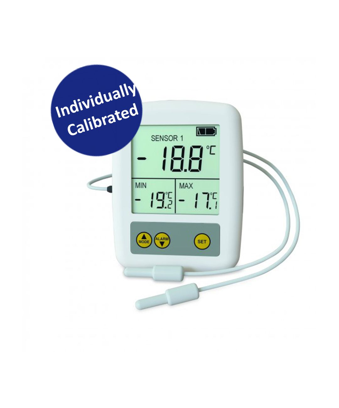 Calibrated Dual Probe Max/Min Thermometer (TMM108C)